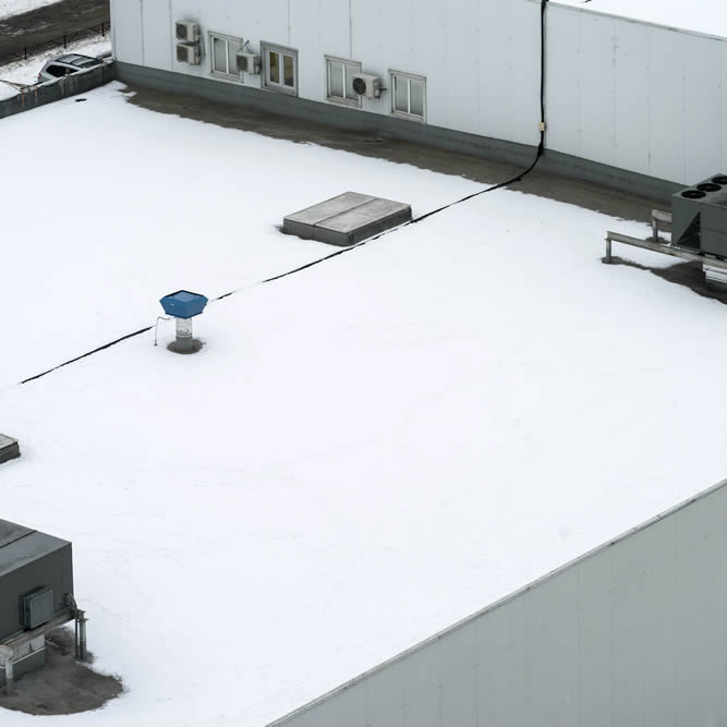Commercial Roofing in the Winter