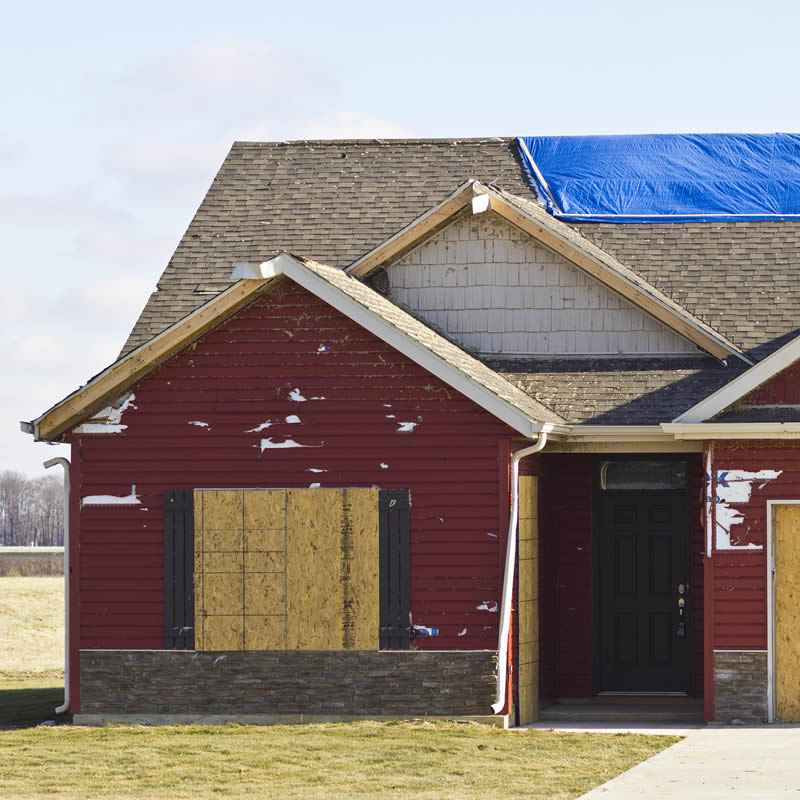 Property Damage Insurance IC Roofing