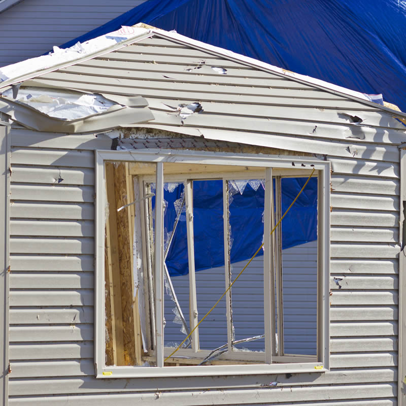 Storm Property Damage Insurance by IC Roofing